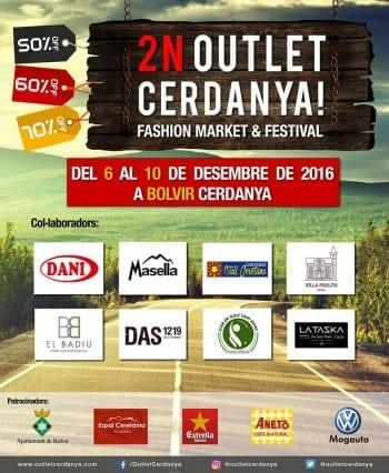 Outlet Cerdanya Diciembre 2016 - patrocinadores colaboradores