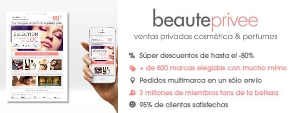 BeautePrivee - outlet perfumería y cosmética - Abril 2017