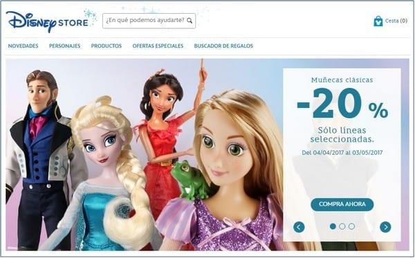 Disney Store Tienda Oficial - Noticias Outlet en Barcelona 286 - Abril 2017
