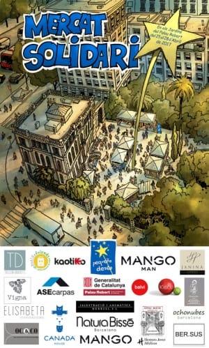 Mercado Solidario Fundación Pequeño Deseo Barcelona - Abril 2017