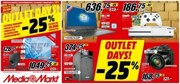 Outlet Days Media Markt - Abril 2017 - NOB 286