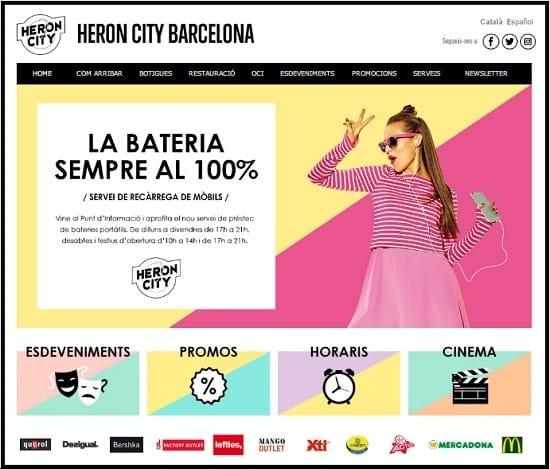 Centro Comercial Heron City Barcelona - Mayo 2017 - NOB 287
