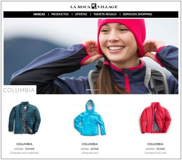 Columbia Sportswear - La Roca Village - NOB 287 - Mayo 2017