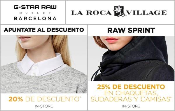 G-Star RAW Outlet Barcelona - La Roca Village - Mayo 2017