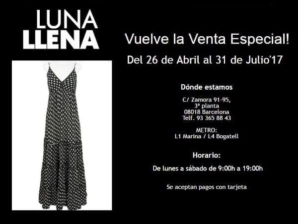 Luna Llena - Venta especial Barcelona - NOB 288 - Mayo 2017