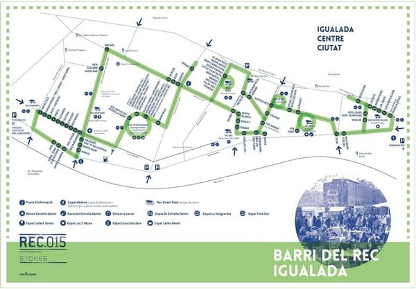 Mapa Rec015 Igualada