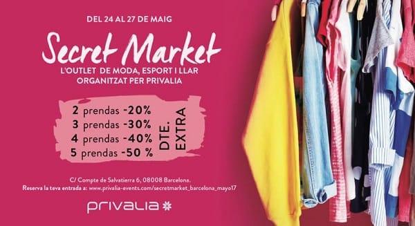 Secret Market Privalia - Mayo 2017 - NOB 288