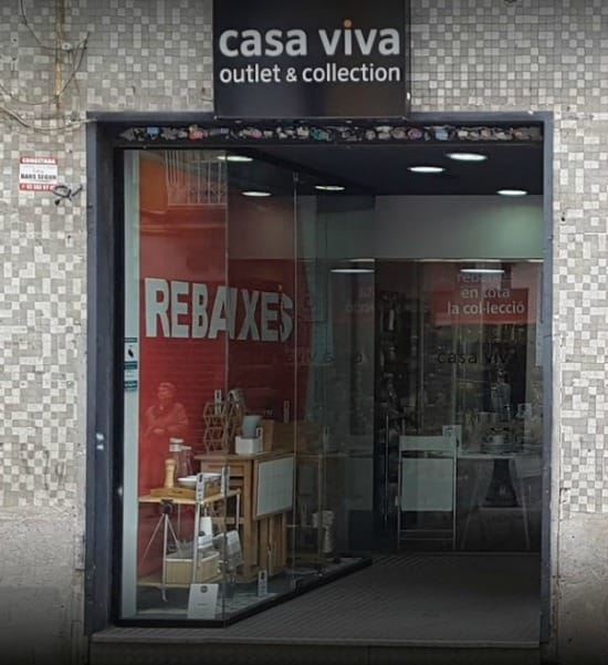 Outlet Collection Casa Viva Rogent Barcelona - NOB 308 - Mayo 2018