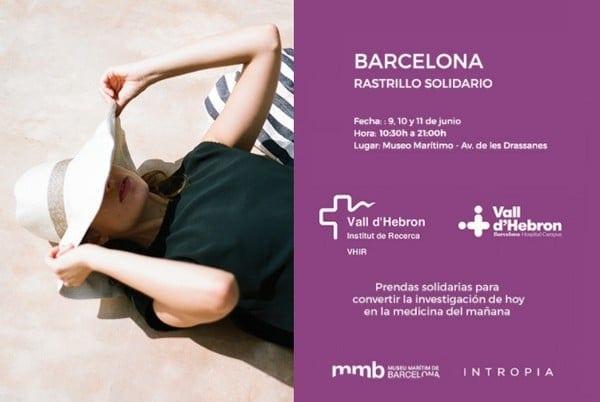 Rastrillo Solidario Hoss Intropia Outlet Barcelona - NOB 289 - Junio 2017