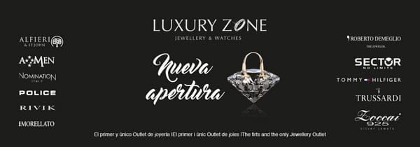 Luxury Zone - Joyeria Outlet - Viladecans The Style Outlets - NOB 291 - Junio 2017