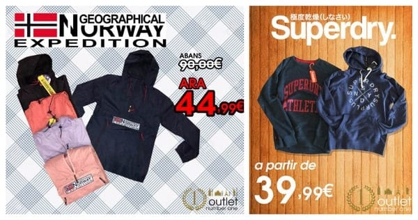 Geographical Norway Superdry Outlet Number One Barcelona - NOB 294 - Octubre 2017