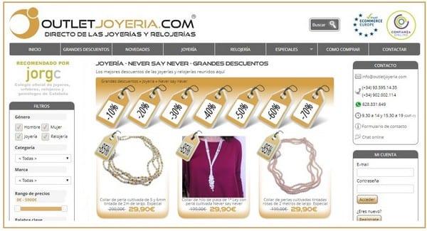 OutletJoyeriacom - Joyeria NEVER say NEVER - NOB 294 - Octubre 2017