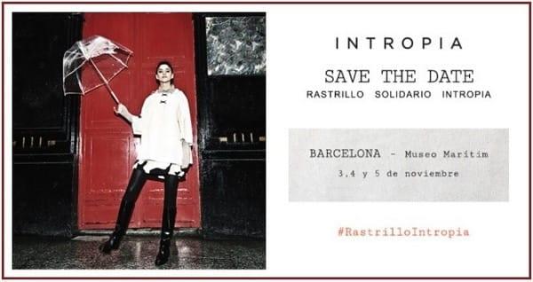 Rastrillo solidario INTROPIA - Noticias Outlet en Barcelona 295 - Octubre 2017