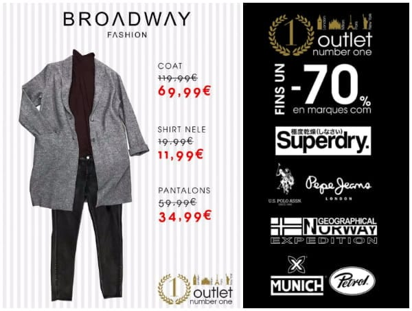 Broadway Fashion - Outlet Number One - 297 - Noviembre 2017