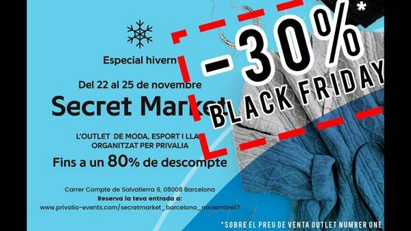 SL - Black Friday Outlet Barcelona - Noviembre 2017