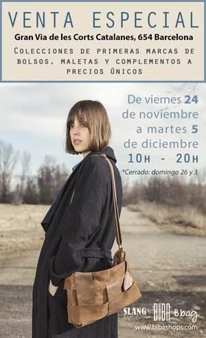 Venta especial Slang Biba - Noticias Outlet en Barcelona 297 - Noviembre 2017