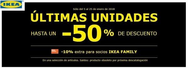 IKEA ultimas unidades - NOB 301 - Enero 2018