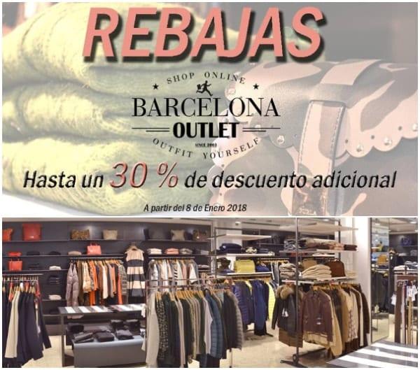 Rebajas Barcelona Outlet - Enero 2018 - NOB 301
