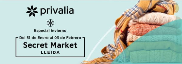 Secret Market Privalia Lleida Febrero 2018 - NOB 302