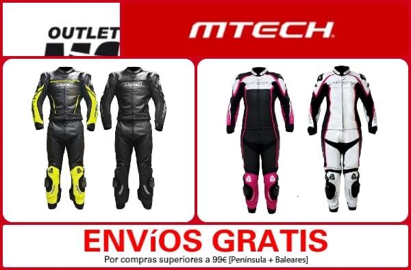 Mono mujer hombre Mtech - Outlet Moto Barcelona - NOB 302 - Febrero 302