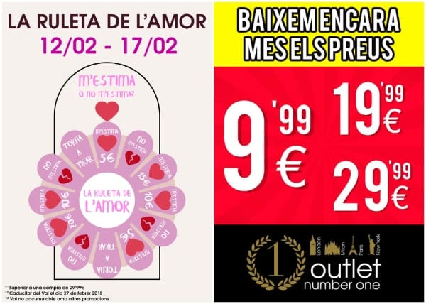 Outlet Number One - Febrero 2018 - NOB 302