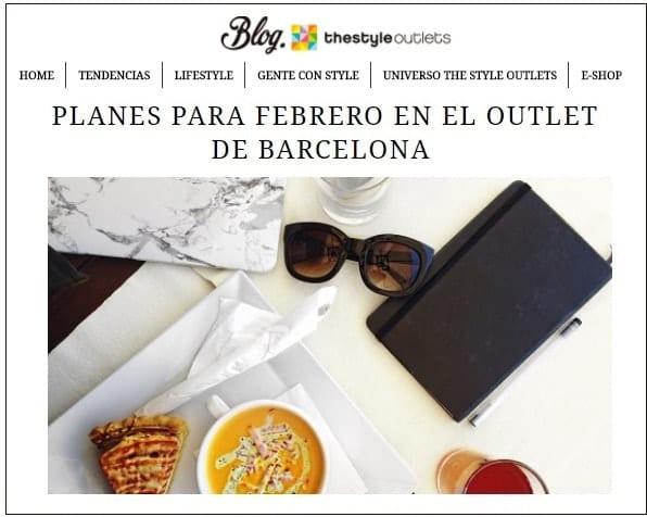 Planes Febrero 2018 en Viladecans The Style Outlets - NOB 302
