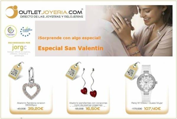 San Valentín Outlet Joyeria Relojeria - NOB 302 - Febrero 2018