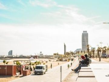 Playa Barcelona - ec st photo Flickr - NOB 305 - Marzo 2018