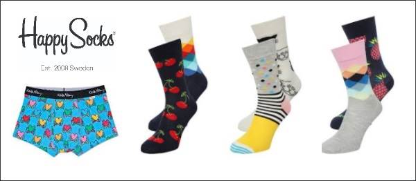 Happy Socks Outlet - Abril 2018 - NOB 306