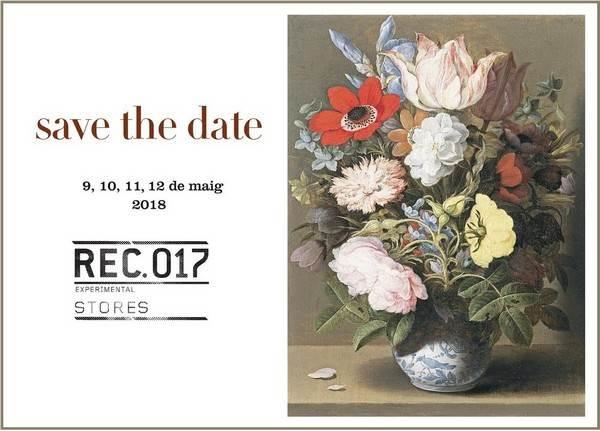 Cartel original Rec 017 - RecStores Igualada - Mayo 2018