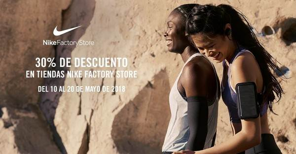 Nike Factory Story - Viladecans The Style Outlets - NOB 309 - Mayo 2018