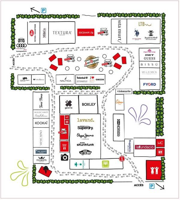 Mapa Shopp Out Girona - NOB 308 - Mayo 2018