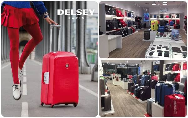 Delsey outlet maletas - Viladecans The Style Outlets - NOB 311 - Junio 2018