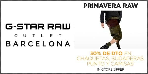 G-Star RAW Outlet Barcelona La Roca Village - NOB 310 - Junio 2018