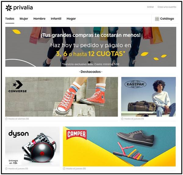 Privalia Outlet Online - NOB 312 - Julio 2018