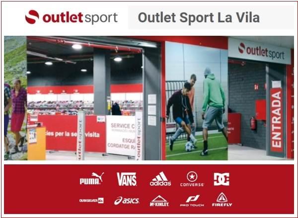 Outlet Sport La Vila Barcelona - NOB 313 - Agosto 2018