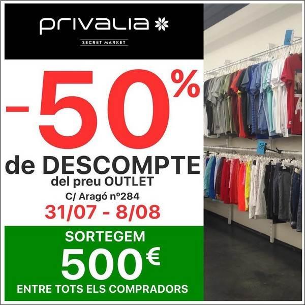 Secret Market Privalia Barcelona - Agosto 2018 - NOB 313