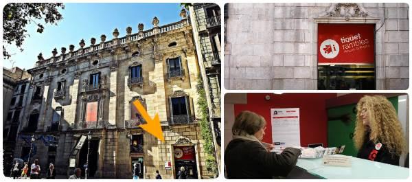 Teatro Tiquet Rambles Palau Virreina - Especial Verano Agosto 2018 - Outlet Barcelona