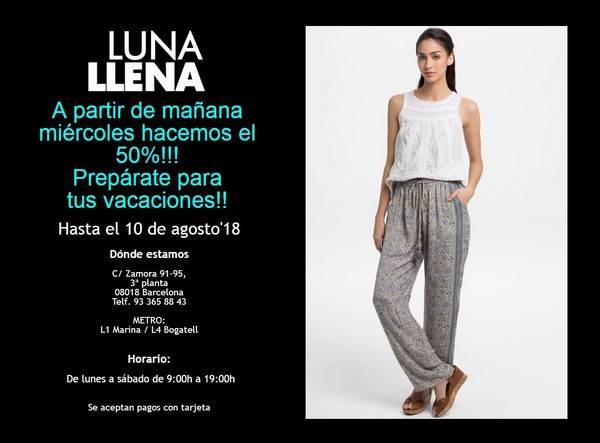 Venta especial Luna Llena Barcelona - Agosto 2018 - NOB 313