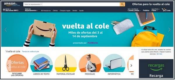 Amazon Vuelta al Cole - NOB 314 - Septiembre 2018