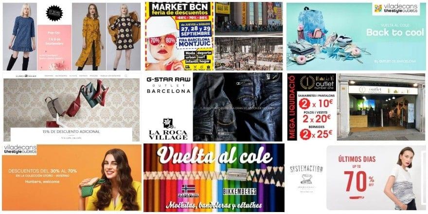 Noticias Outlet en Barcelona #314 ~ Septiembre 2018