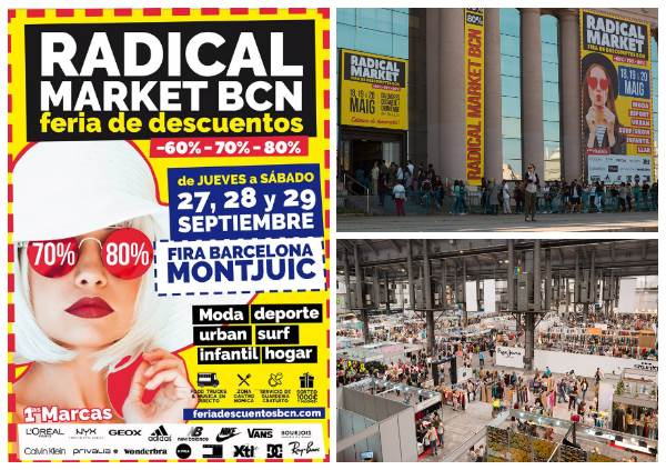 Radical Market BCN Barcelona cartel - NOB 313 - Septiembre 2018