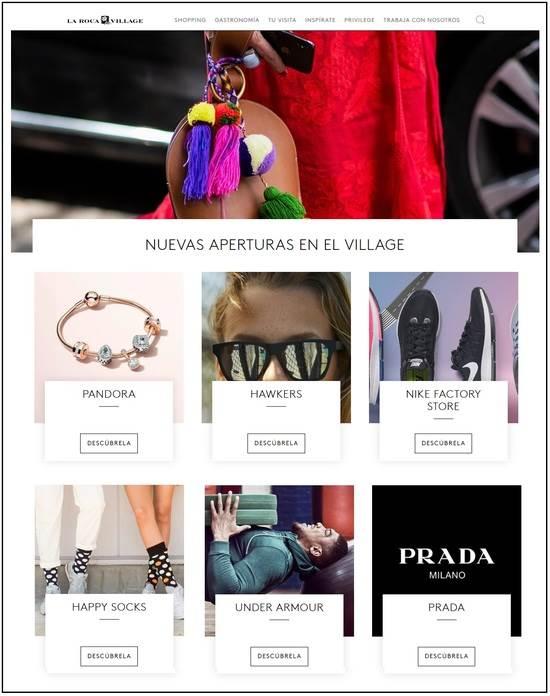 Nuevas tiendas y marcas outlet en La Roca Village - NOB 316 - Octubre 2018