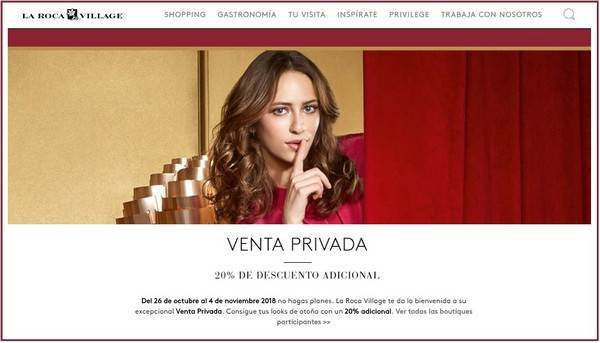 Venta Privada La Roca Village - NOB 316 - Octubre 2018