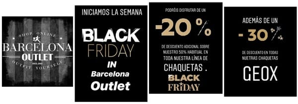 Barcelona Outlet - Black Friday 2018