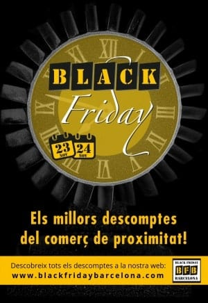 Black Friday Barcelona - Noviembre 2018
