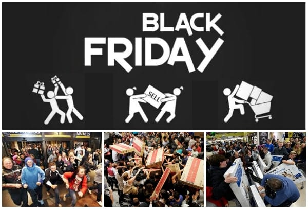 Caos Black Friday en Estados Unidos - Especial Outlet Barcelona - Noviembre 2018