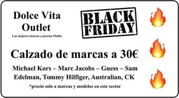 Dolce Vita Outlet - Black Friday 2018 Barcelona