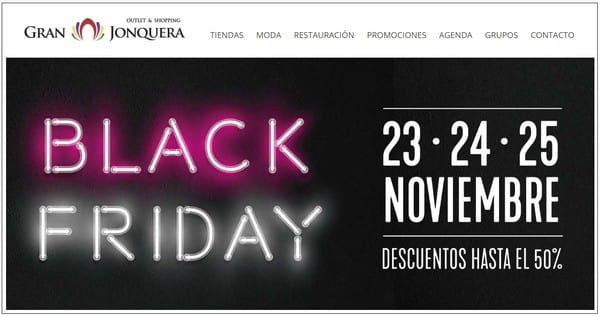 Gran Jonquera Outlet Shopping - Especial Black Friday 2018 Outlet Barcelona