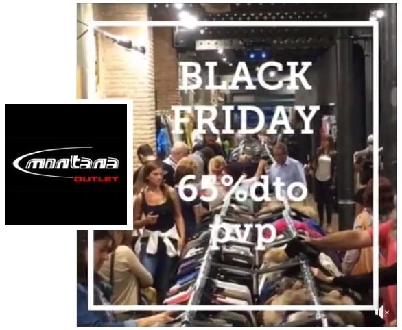 Montana Outlet - Black Friday 2018 Barcelona